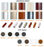 Fornitore di alluminio della fabbrica del portello di piegatura di colore di legno del grano