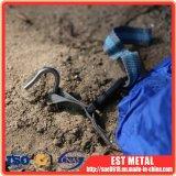 Dia3.5mm hochfeste Titanlegierungs-Bodennagel verrosten nie