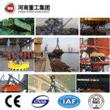 Heavy Duty viga doble puente grúa con Mandril electromagnético para chatarra de acero