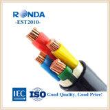 600V 4X70 câble électrique en aluminium câble isolé en polyéthylène réticulé fabricant de Shanghai