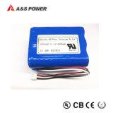 UL2054/38.3 de l'ONU 18650 3s2p 11.1v 4000mAh Batterie Li-ion pour haut-parleur Bluetooth