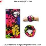 Características inferiores arriba elásticos tubulares de color de ante respirables de la fibra de Headwear que suben (YH-HS180)