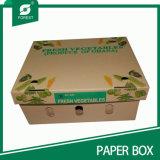 Personnalisé de haute qualité de papier ondulé Boîte de fruits et légumes