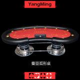 Игроков типа 10 фабрики таблицы покера казина Техас Holdem игры экономичных модельных играя в азартные игры (YM-TB014)