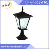 Lámpara del jardín de la energía solar, lámpara LED del jardín