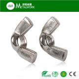 Ecrou-papillon d'acier inoxydable (DIN315)