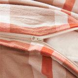 ロッジの綿の縞の工場綿のベッドカバー