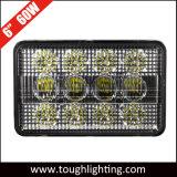 6X4en el rectángulo de 60W LED luces de la cosechadora Cosechadora de CIH