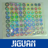 Rolo de Círculo com holograma Self-Adhesive etiqueta autocolante