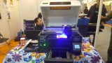 Metallglasdrucker des industrieller Tintenstrahl-lederner Telefon-Deckel-3D