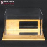 Стеллаж для выставки товаров солнечных очков сделанный от Acrylic и бамбука