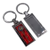 Metallo promozionale personalizzato Keychain di figura d'imitazione della pistola per il ricordo
