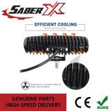 8 pouces étanche 18W à LED simple rangée d'inondation la barre de feux de travail pour les SUV/Jeep/ATV