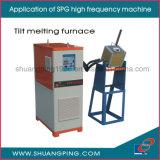 Hochfrequenzinduktions-schmelzende Maschine Spg50K-25b 25kw 30-100kHz