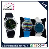 Reloj de manera material de la muñeca del cuarzo B de la caja plástica del silicio para la gente joven