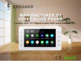 Домашние системы безопасности роскошь 7 дюймов Interphone видео сигнала системы внутренней связи