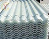 Plástico reforçado com fibra de papelão ondulado de parede do painel Painel de PRFV a folha de plástico reforçado por fibra