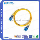광섬유 접속 코드 SC/PC-SC/PC 단일 모드 2 미터