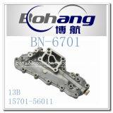 Coperchio del radiatore dell'olio di Toyota 13b del pezzo di ricambio del motore di Bonai (15701-56011)