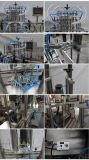 Автоматические 4 головки разливая жидкостную машину по бутылкам завалки для уксуса (YT4T-4G1000)