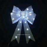 A noite de Natal decoração exterior de iluminação LED Arco