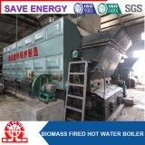 Le combustible solide a sorti la chaudière de cosse de riz d'eau chaude
