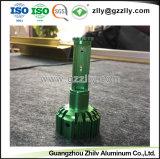 LED 열 싱크를 위한 다채로운 양극 처리된 알루미늄 밀어남 단면도