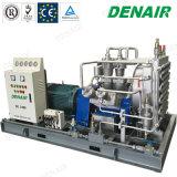 Stille Industriële Vrije Olie Minder Compressor van de Lucht van de Diesel Oilless Zuiger van de Hoge druk