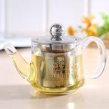 POT di vetro del tè 129ml con la teiera bollita filtro (HCG-T150)