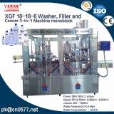 18-18-6 wasmachine, Vuller en Capsuleermachine 3 in-1 Machine Monoblock
