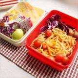 Contenitore di alimento di plastica della casella di pranzo di Bento con Spork 20104