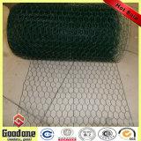 PVC上塗を施してある鉄の六角形の金網