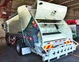 хлам 3 m3 собирает тележку, 4 отброса тонны тележки Compactor, тележки Compactor выжимк