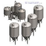 De Apparatuur van het Bierbrouwen van het Huis van de Bodem van de Inductie van het roestvrij staal
