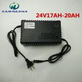 24V de slimme Lader van de Batterij van het Lood Zure die voor Elektrische Fiets 17-20ah en Auto wordt gebruikt