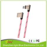 Горячая продажа Portable C типа металлической головки Жан USB-кабель для зарядки