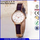 Wristwatch повелительниц кварца OEM классики способа роскошный (Wy-103E)