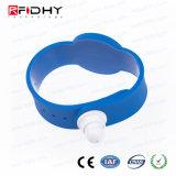 腕時計の形の青いRFIDのアクセス制御キー・バンド