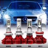 Neuer Fanless X3 Selbst-LED Auto-Scheinwerfer des Scheinwerfer-6000lm 50W 9012 H4 H7 LED