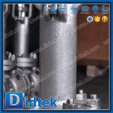 Prolonge cryogénique de cheminée de soupape à vanne d'acier inoxydable de Didtek