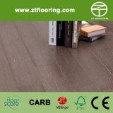 HDF a conçu le cliquetis en bambou Easw08 de plancher tissé par brin