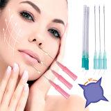Suture de levage des produits V Pdo de soins de la peau avec le pointeau pour l'amorçage de dent de levage de face
