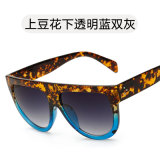 La mode Big Vintage en plastique des lunettes de soleil Aviator Lunettes de soleil pour Hommes Femmes