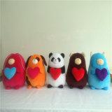 Панда плюша с влюбленностью u примечания iего сердца