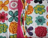 Kundenspezifische vorgewaschene haltbare bequeme Bettwäsche steppte die Bettdecke der Bettdecke-1-Piece, die für 65 eingestellt wurde