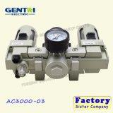 AC Eenheid van de van de Bron lucht van de Filter van de Lucht de Regelgever van de Druk van de Lucht van de Behandeling met Maat