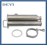 SS304 de gealigneerde Sanitaire Zeef van de Filter van het Roestvrij staal met de Stijl van de Klem (dy-SF202)