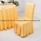 Folha de carimbo quente para a tampa do Tablecloth/cadeira