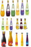 カスタムフルカラーガラスは飲料のラベルのびんのラベルをびん詰めにした