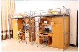 Moderne Werkstatt-Fabrik-Schule-preiswertes Metalldoppelt-Koje-Bett